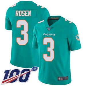 Dolphins Josh Rosen 100th Season Jersey